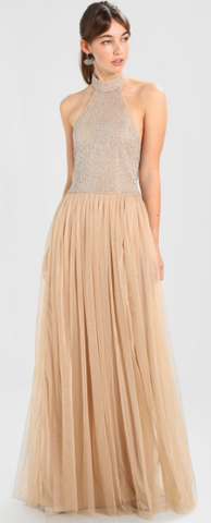 MAYA - Millicent Beaded Gown - Designer Dress hire