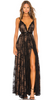 DRESSES BY LARA - Rouge Lace Gown - Designer Dress hire