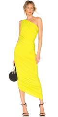 NORMA KAMALI - Yellow Diana Gown - Designer Dress Hire