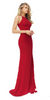 SHERRI HILL - Emilie Red Dress - Designer Dress hire