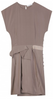 RICHARD NICOLL - Taupe Drape Dress - Designer Dress hire