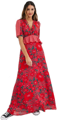 TWISTED WUNDER - Vivid Floral Maxi Dress - Designer Dress Hire
