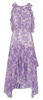 WHISTLES - Anne Lilac Print Dress - Designer Dress hire