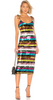 VIONNET - Vivid Print Dress - Designer Dress hire