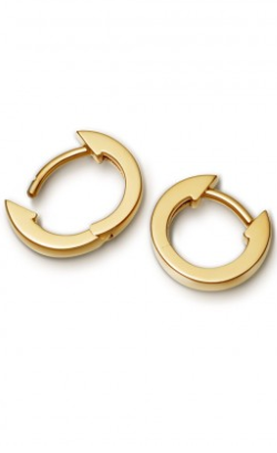 ASTLEY CLARKE - Mini Halo Gold Hoop - Designer Dress hire