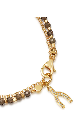 ASTLEY CLARKE - Smoky Quartz Biography Bracelet - Designer Dress hire