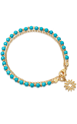 ASTLEY CLARKE - Turquoise Sun Biography Bracelet - Designer Dress hire