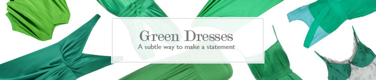 Hire Green Dresses for your upcoming events