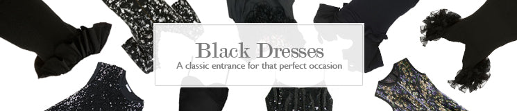Hire Black Dresses for your upcoming events