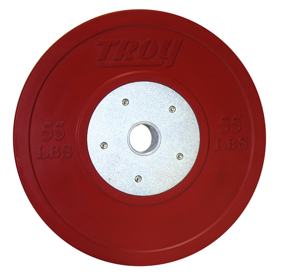 CCO-SBP55 55lb Red Competition Bumper Plate