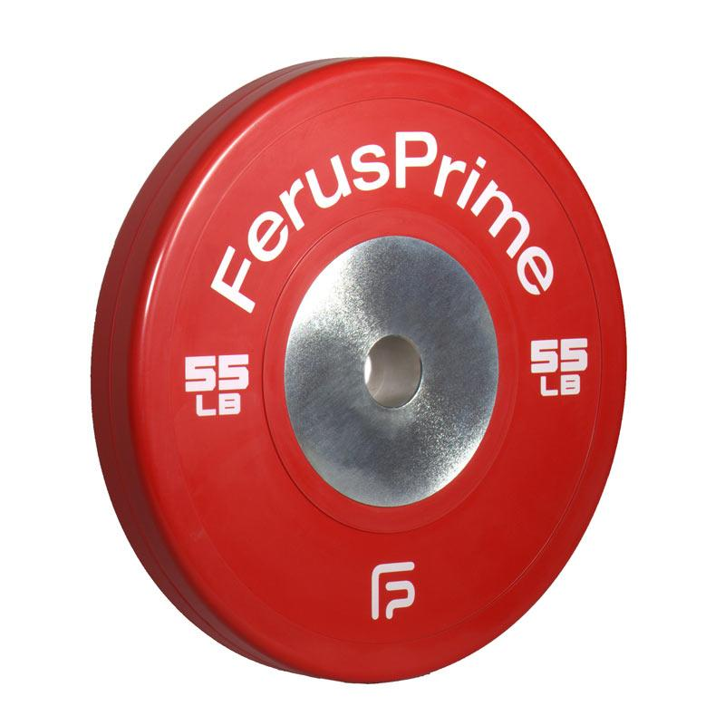 CCW55L 55lb Red Competition Bumper Plate