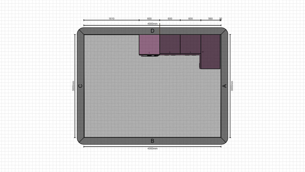 Individual kitchen planning from 09-02-2021, 14:43:03