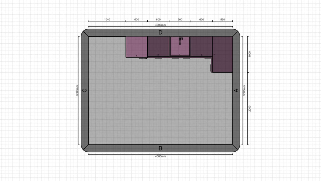 Individual kitchen planning from 24-02-2021, 17:56:54