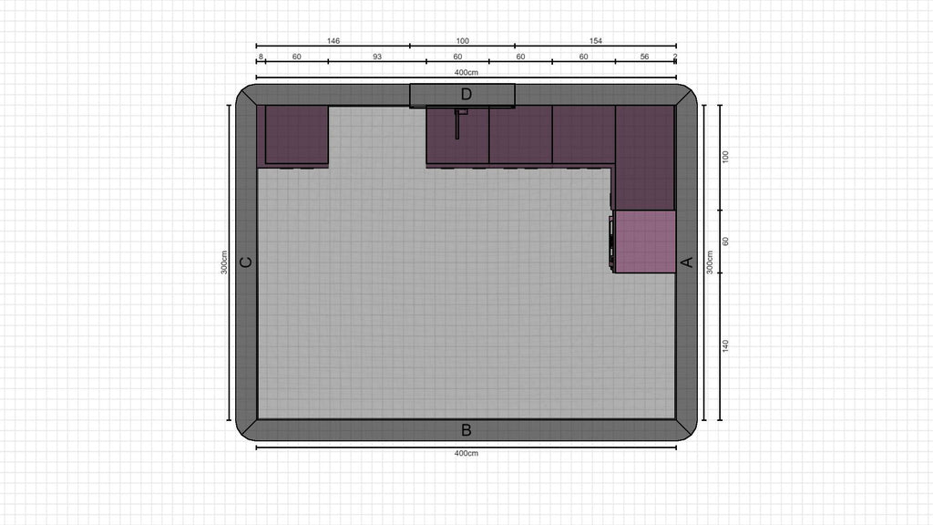 Individual kitchen planning from 18-12-2020, 14:36:53