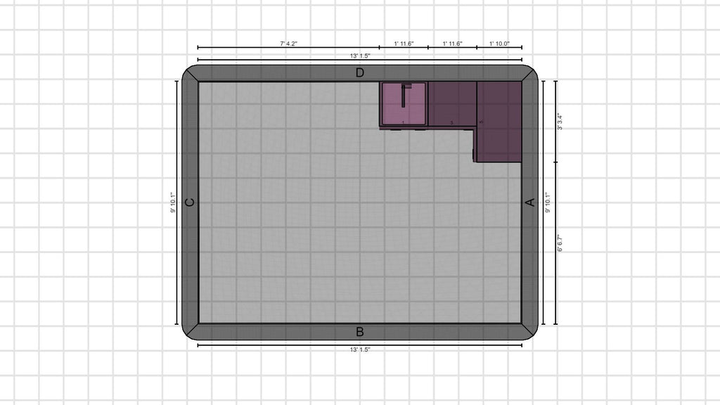 Individual kitchen planning from 26-01-2021, 13:42:10