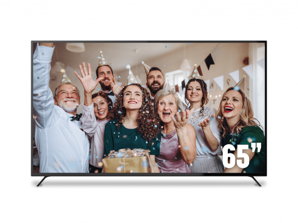 "SONIQ 65"" UHD DVB-T LED TV"