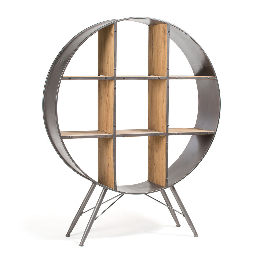 Helia Shelf In Wood And Metal