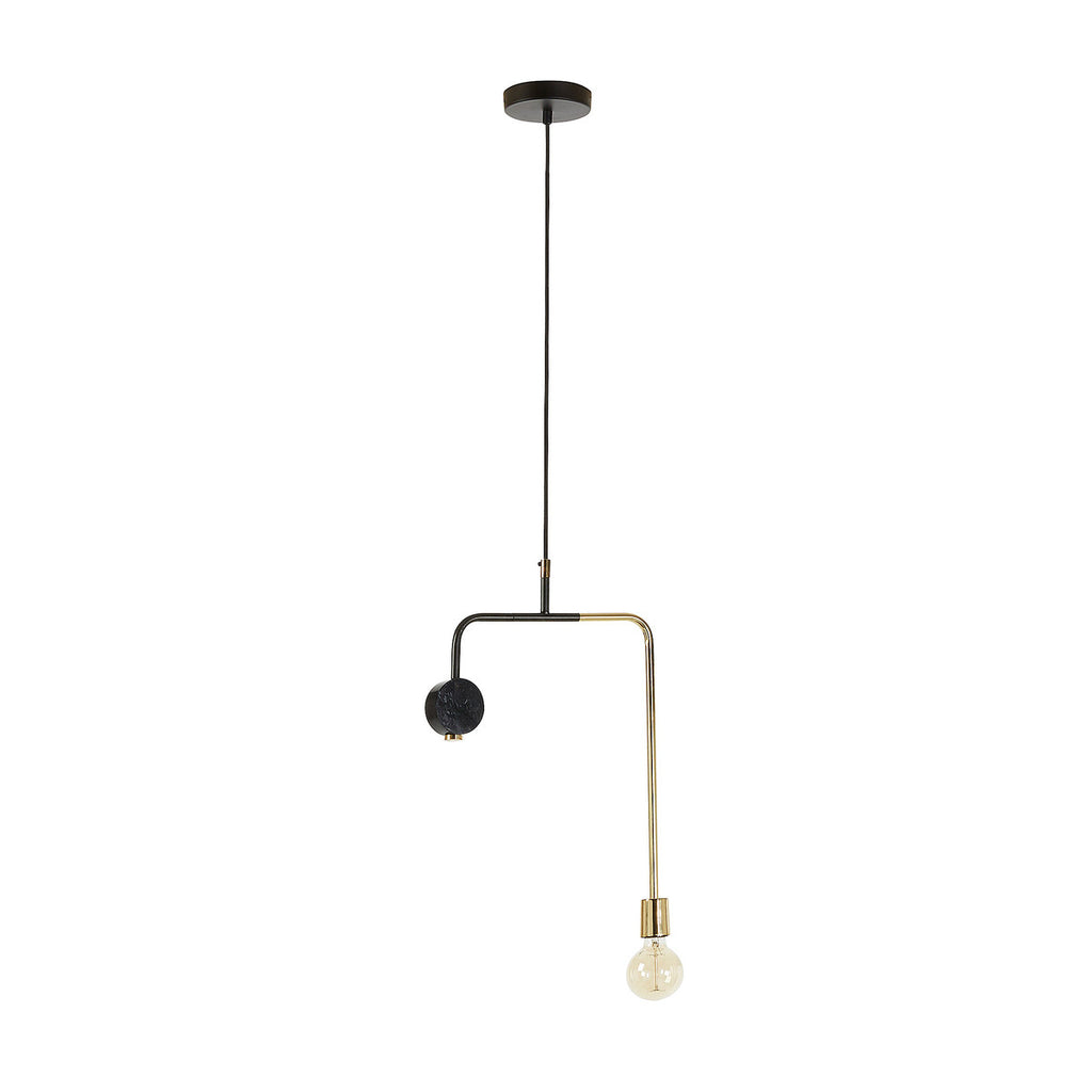 WHOA Pendant lamp metal matt brass