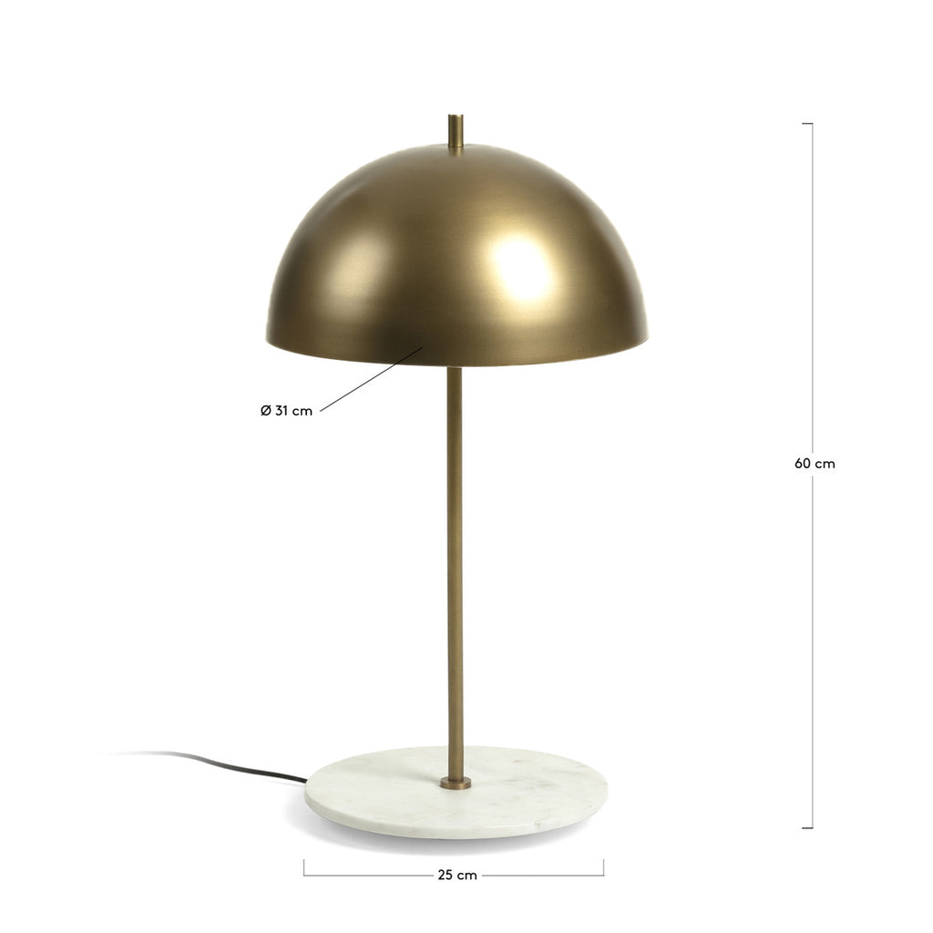 Biggest - Marble Base & Brass finish Table Lamp