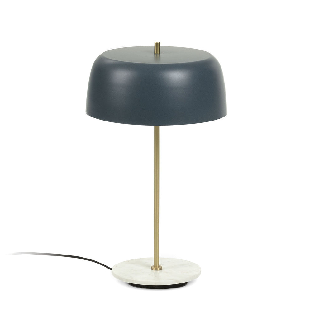 Binary - Marble Base & Brass finish Table Lamp