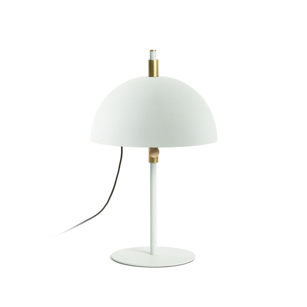 Sisina - White & Gold Metal Table Lamp
