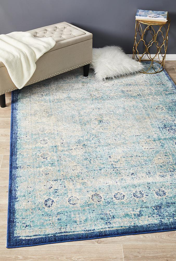 Anastasia Sea Blue Rug