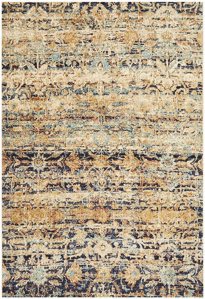 Anastasia Industrial Multi Colour Rug