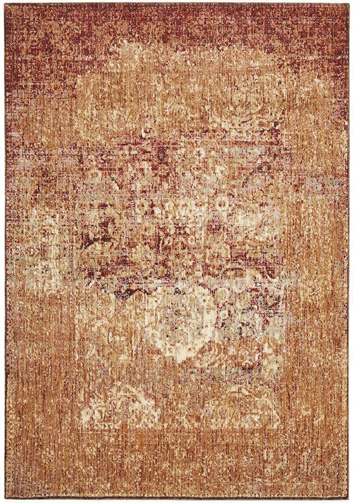 Anastasia Saffron Red Copper Rug