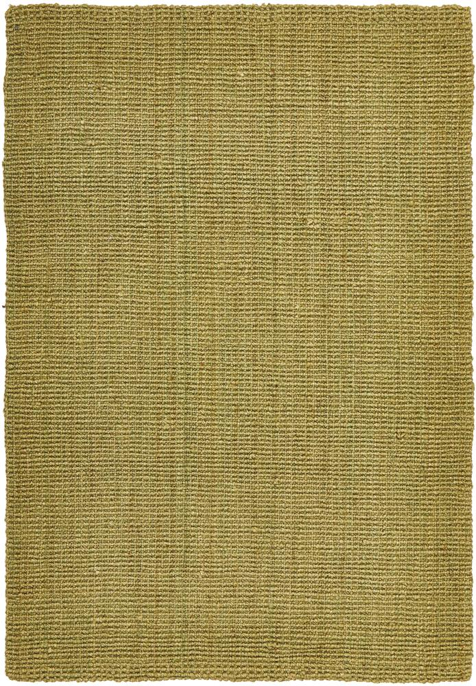 Handcrafted Woven Green Rectangle Rug