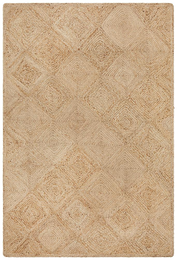 Reversible Braided Natural Fibre Rug