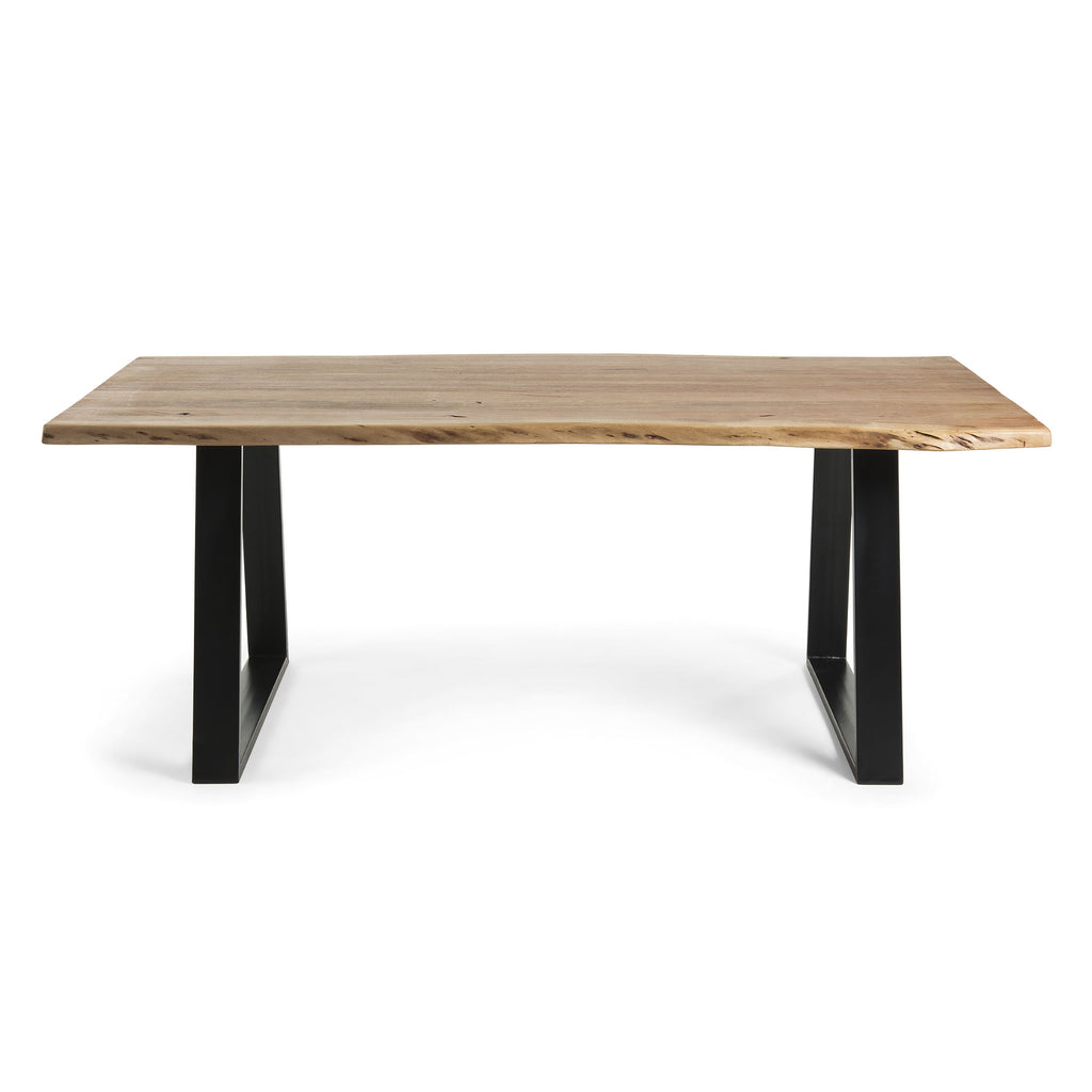 Dining Table - Black Wattle/Acacia natural