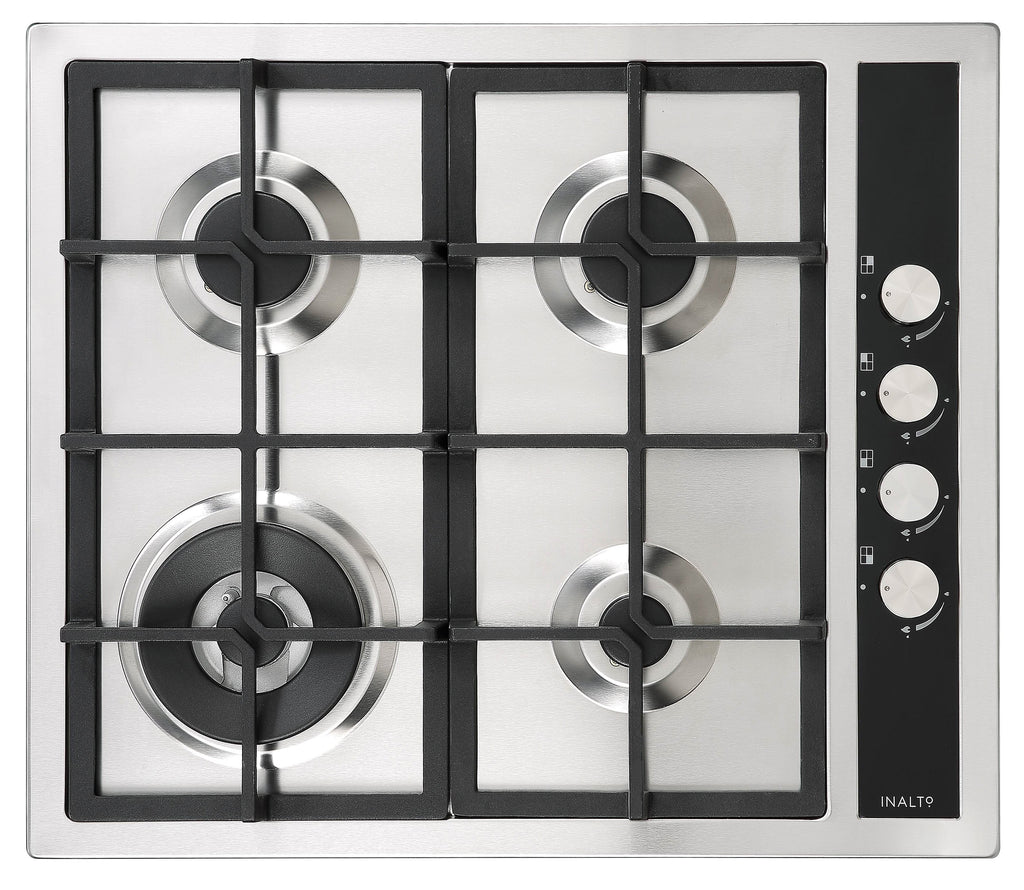 InAlto 60cm Gas Cooktop with Wok Burner