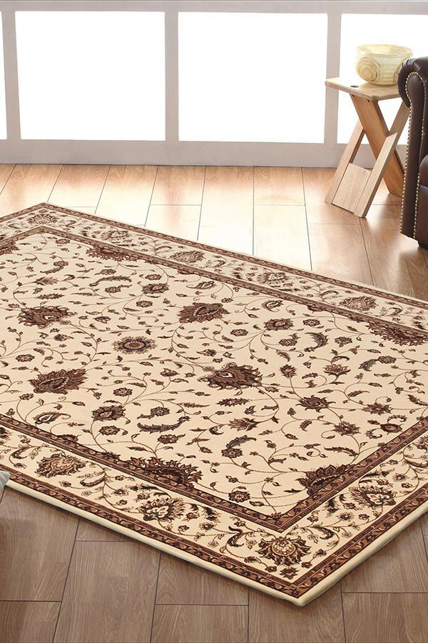 Empire Collection Stunning Formal Classic Design Cream Rug