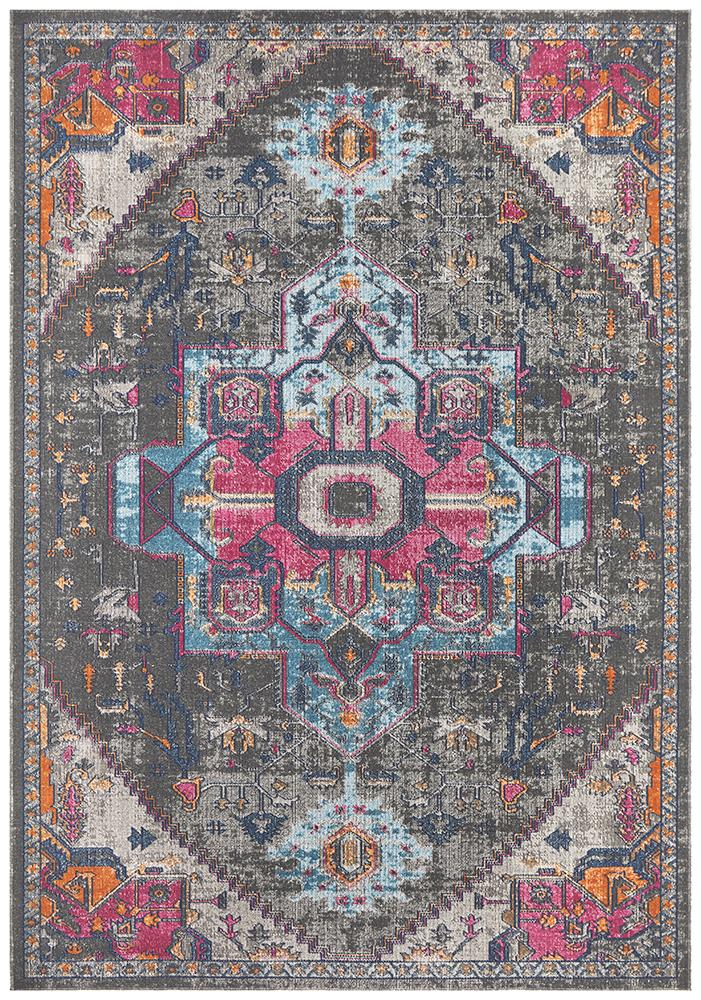 Eternal Whisper Quad Grey Rug