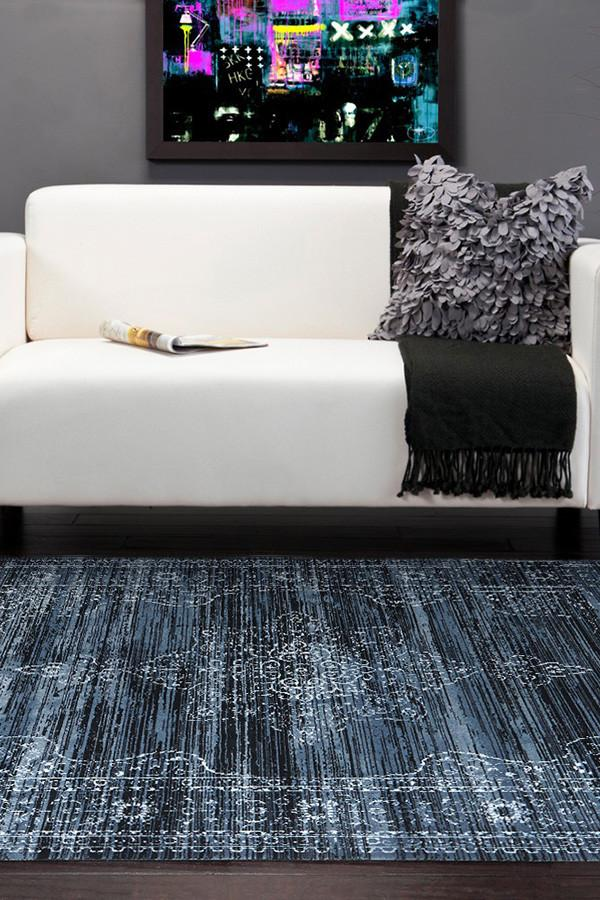 Heirloom Kings Court Designer Blue Rug