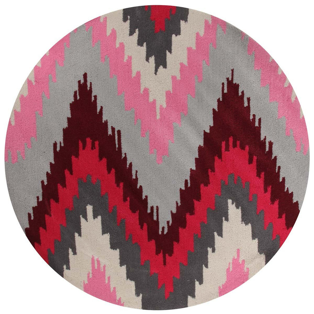 Gold Collection 630 Berry Round Rug