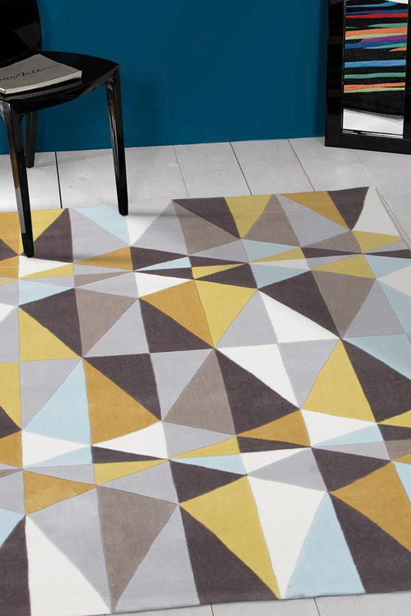 Gold Collection 632 Yellow Rug