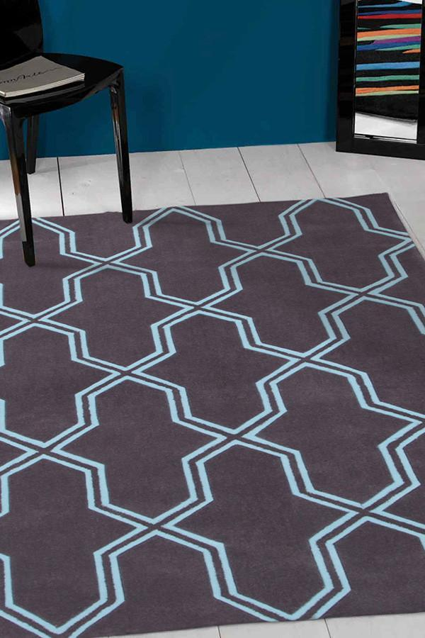 Gold Collection 639 Smoke Rug