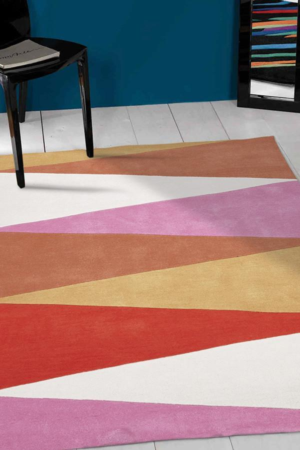 Gold Collection 645 Pink Rug