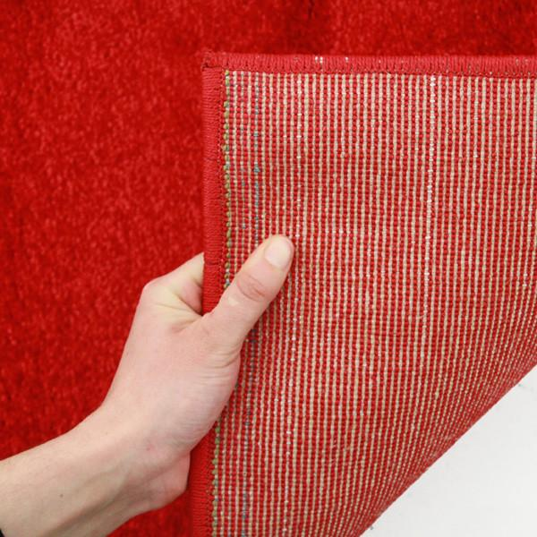 Icon Stunning Thick Designer Runner Rug Red
