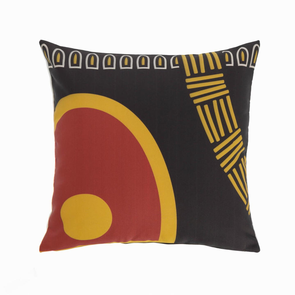 MARIETOU red 45 x 45 cm cushion