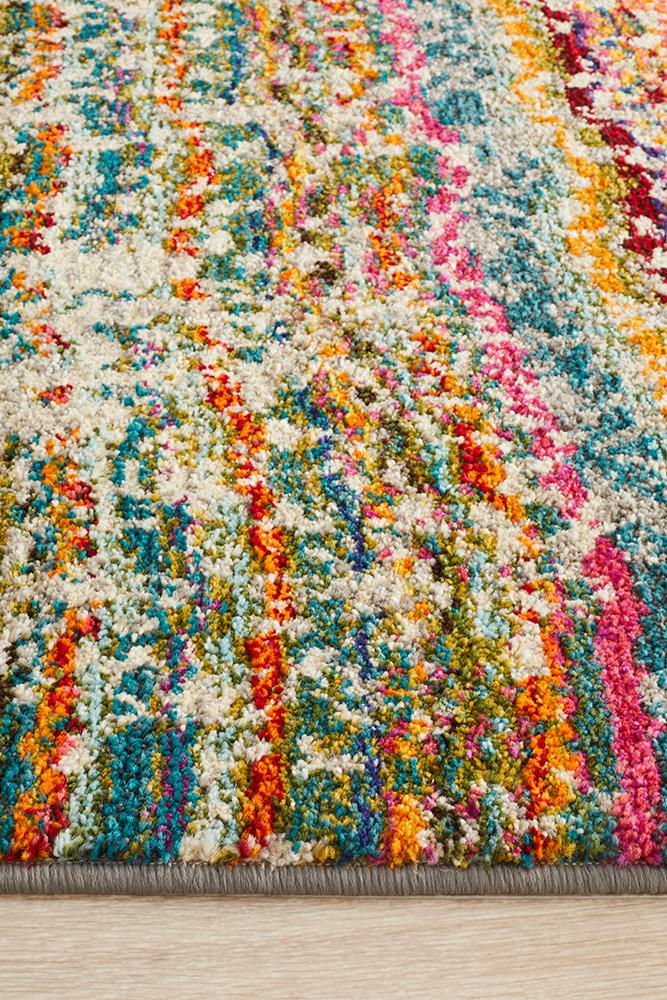 Kaleidoscope Stunning Monet Inspired Multi Rug