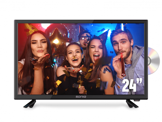 "SONIQ 24"" DVB-T TV with DVD Combo"