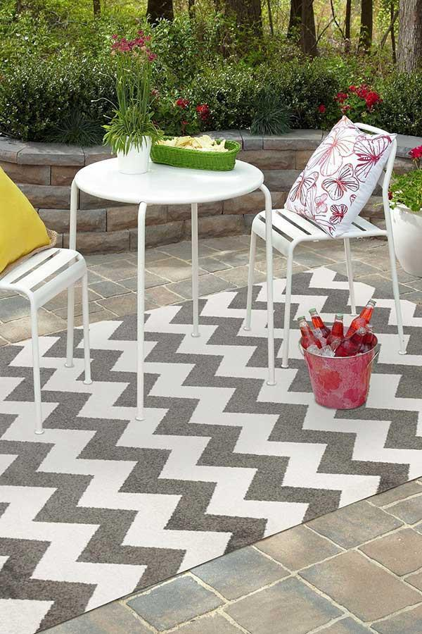 Marquee Indoor Outdoor 305 Grey Rug