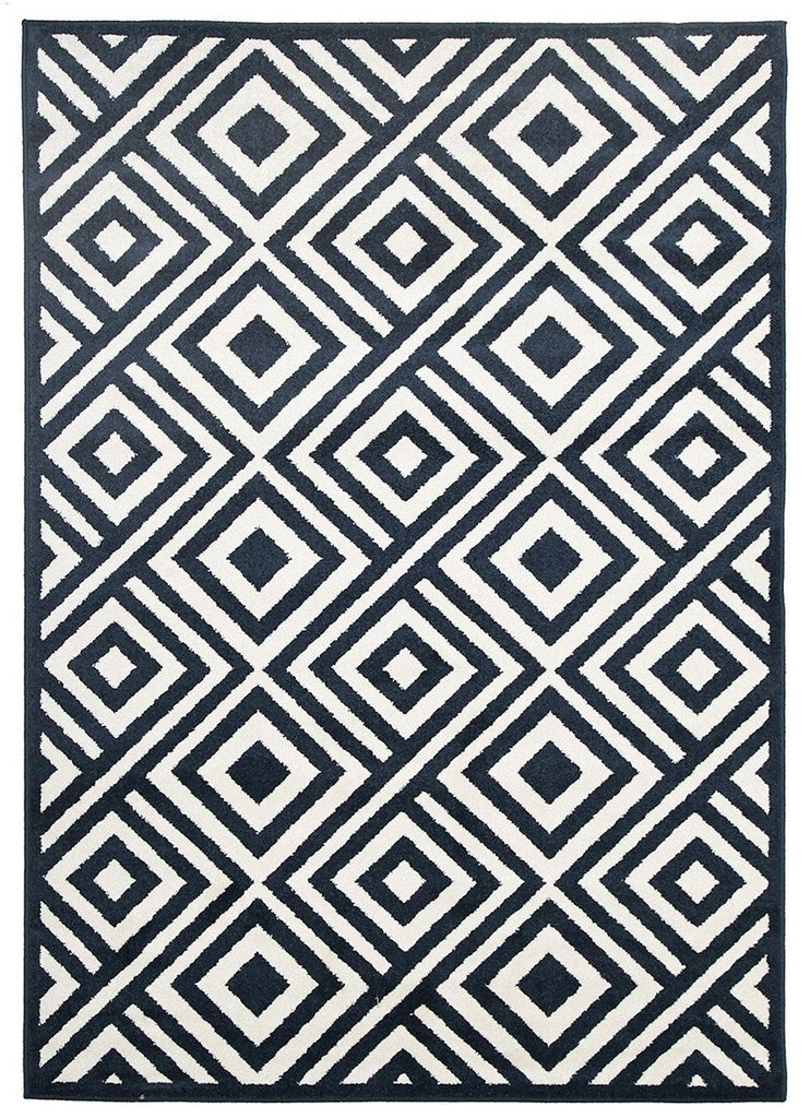 Marquee Indoor Outdoor 307 Navy Rug