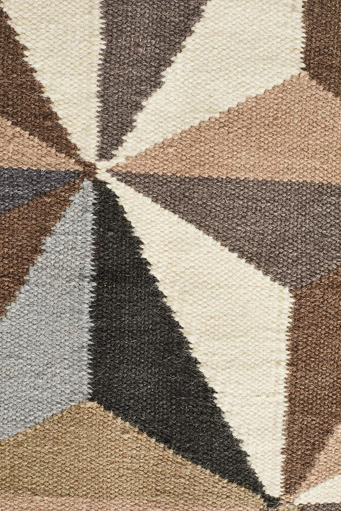 Nomad Pure Wool Flatweave 31 Grey Runner