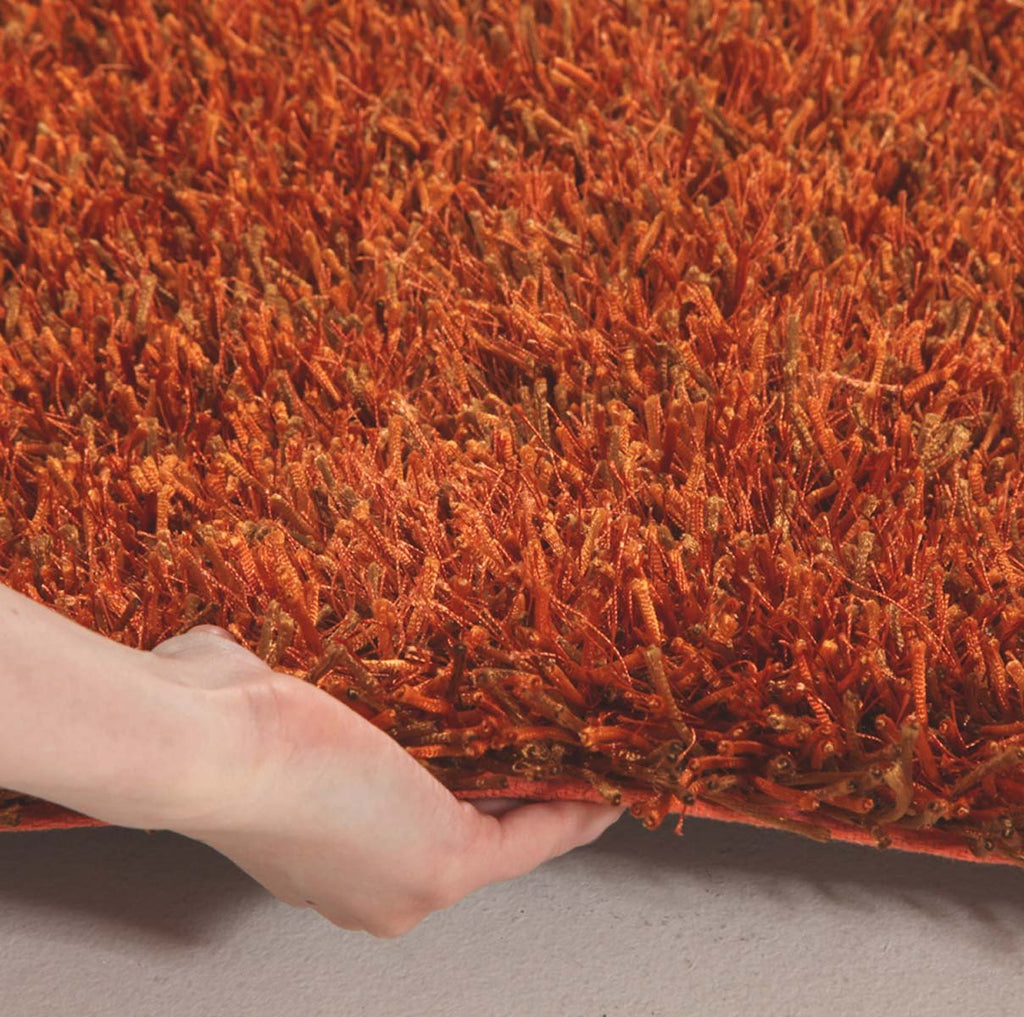 Orlando Collection Rust Rug