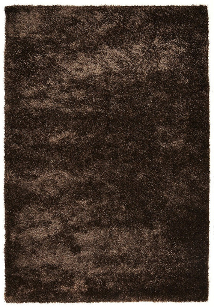 Panama Collection Brown Rug