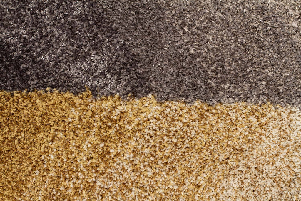 Prism Molino Grey Gold Multi Coloured Textured Rug