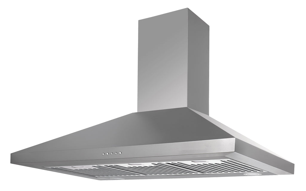 InAlto 90cm Canopy Rangehood with LED Lights
